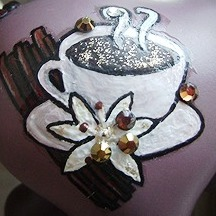 Painted Coffee Cup image
